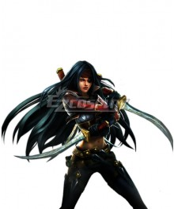 League Of Legends LOL Bilgewater Katarina Cosplay Costume