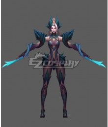 League Of Legends LOL Coven Zyra Cosplay Costume
