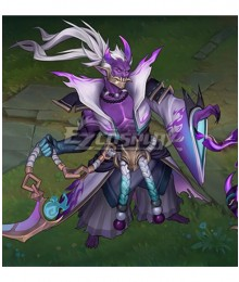 League of Legends LOL Spirit Blossom Thresh Ghost Cosplay Costume