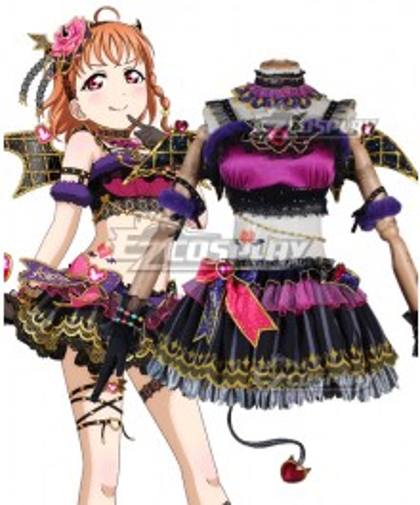 Love Live! Sunshine!! Aqours Chika Takami Little Devil Cosplay Costume