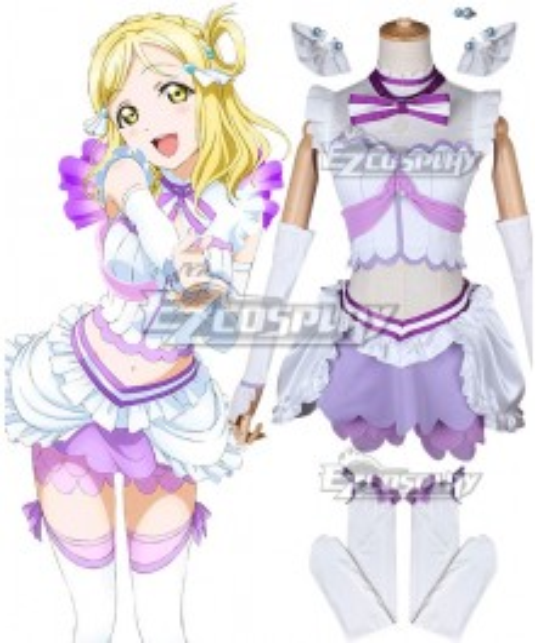Love Live! Sunshine!! Koi Ni Naritai AQUARIUM Mari Ohara Cosplay Costume