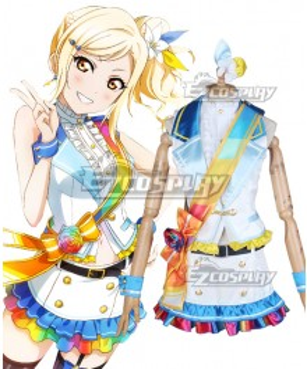LoveLive! School Idol Festival PERFECT Dream Project Rainbow Rose Ai Miyashita Cosplay Costume