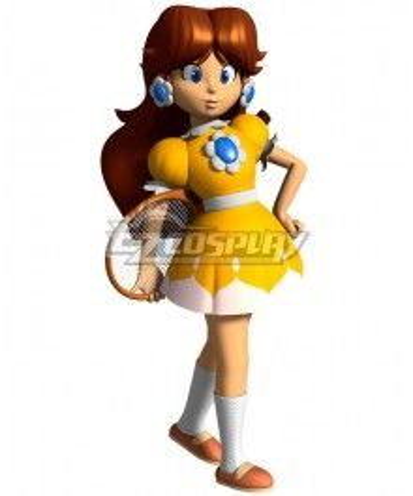 Mario Tennis N64 Princess Daisy Cosplay Costume