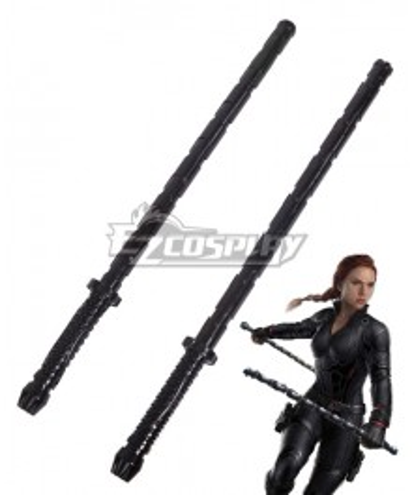 Marvel Avengers: Endgame Black Widow Natasha Romanoff Two Sticks Cosplay Accessory Prop