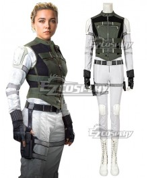 Marvel Black Widow 2020 Yelena Belova Cosplay Costume