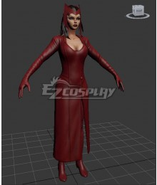 Marvel Now Scarlet Witch Cosplay Costume