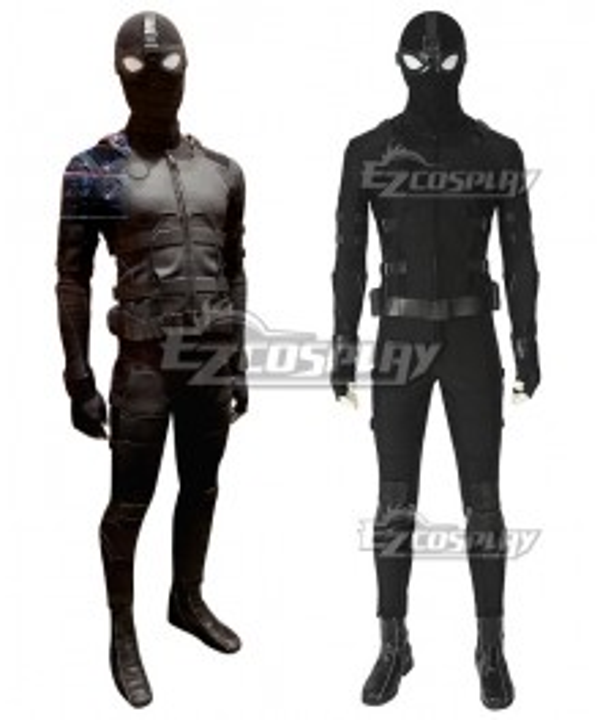 Marvel Video Game PS4 Spider Man Peter Parker Spider-Man Stealth Suit Cosplay Costume