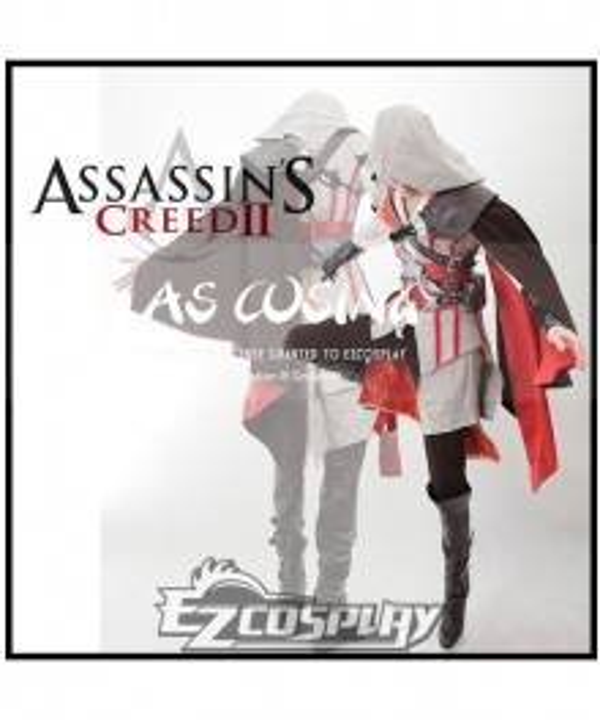 Assassin's Creed II Ezio Cosplay Costume New Arrival