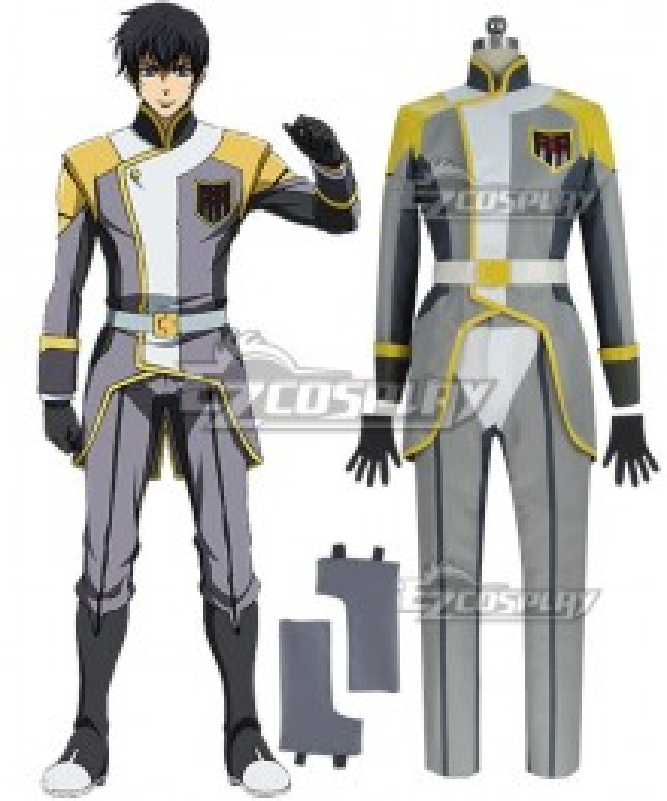 Mobile Suit Gundam Iron-Blooded Ein Dalton Cosplay Costume