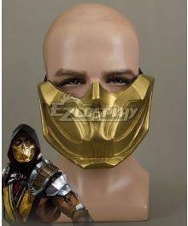 Mortal Kombat 11 Scorpion Halloween Mask Cosplay Accessory Prop
