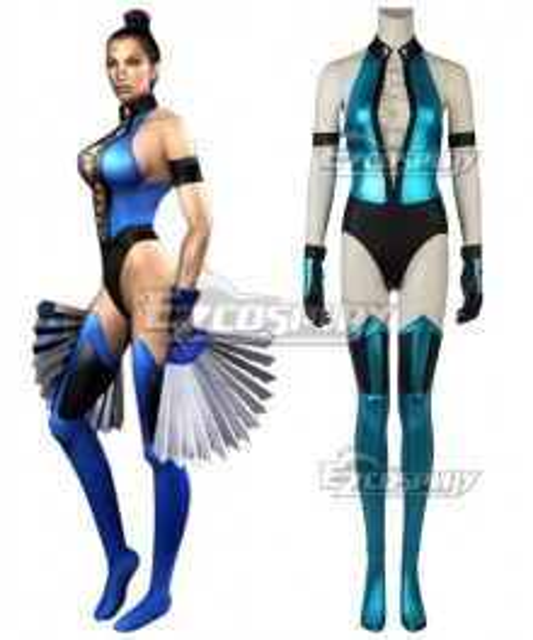 Mortal Kombat Kitana Cosplay Costume
