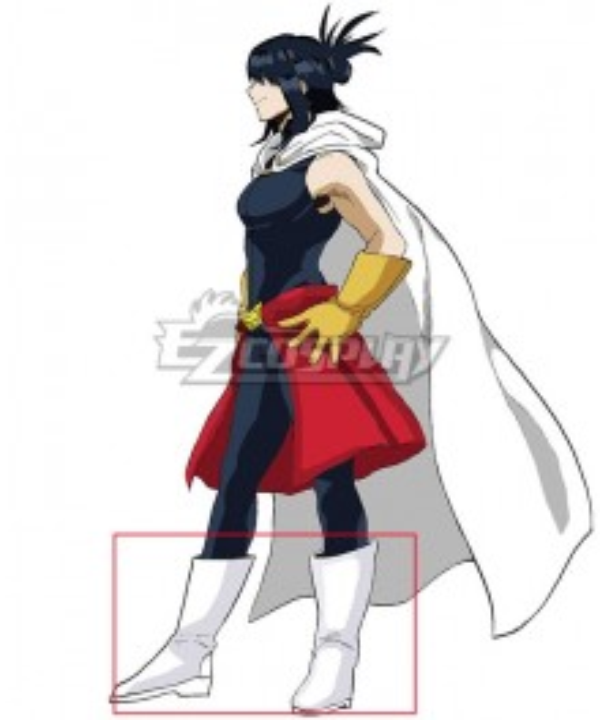 My Hero Academia Boku No Hero Akademia Nana Shimura White Shoes Cosplay Boots
