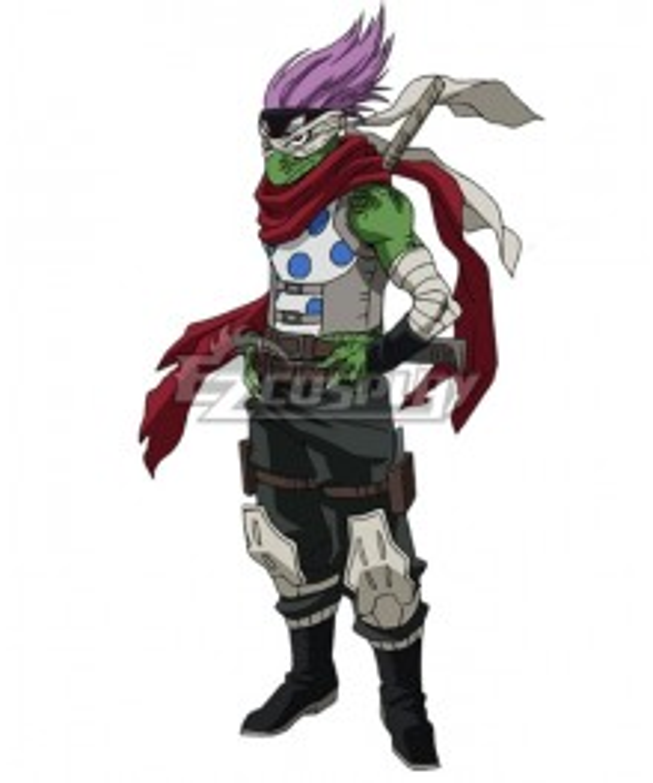 My Hero Academia Boku No Hero Akademia Spinner Cosplay Costume