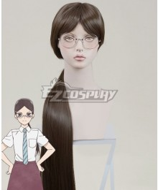 O Maidens in Your Savage Season Araburu Kisetsu no Otome-domo yo Rika Sonezaki Brown Cosplay Wig