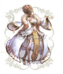 Octopath Traveler Conquerors Of The Continent Helminia Cosplay Costume