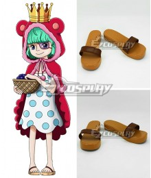 One Piece Sugar Brown Cosplay Shoes