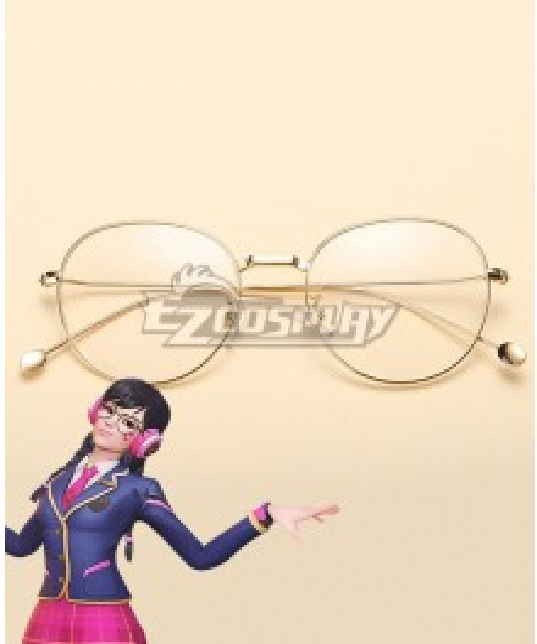 Overwatch OW Dva Hana Song Academy D․Va Glasses Cosplay Accessory Prop