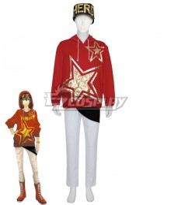 Persona 5:Dancing Star Night Goro Akechi Dancing All Night DLC Cosplay Costume