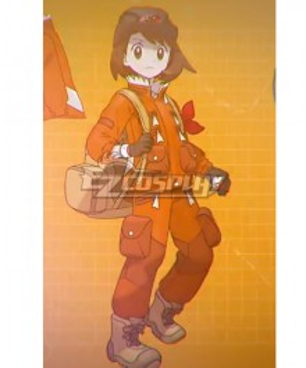 Pokemon Pokémon Sword And Shield Male Female Trainer New DLC Cosplay Costume