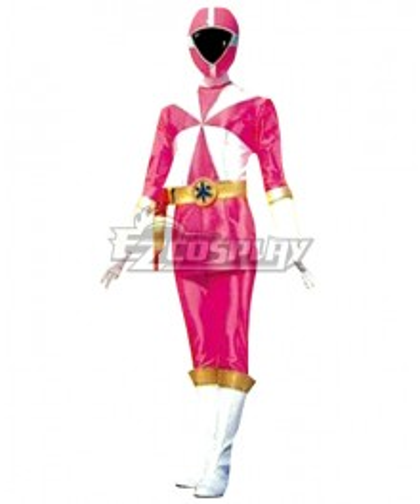 Power Rangers Lightspeed Rescue Pink Lightspeed Ranger Cosplay Costume