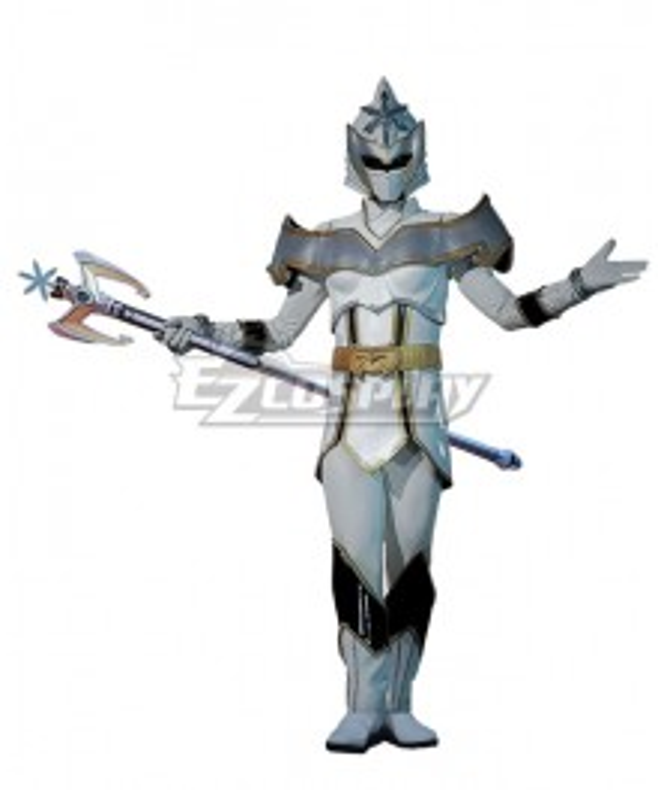 Power Rangers Mystic Force White Mystic Ranger Cosplay Costume