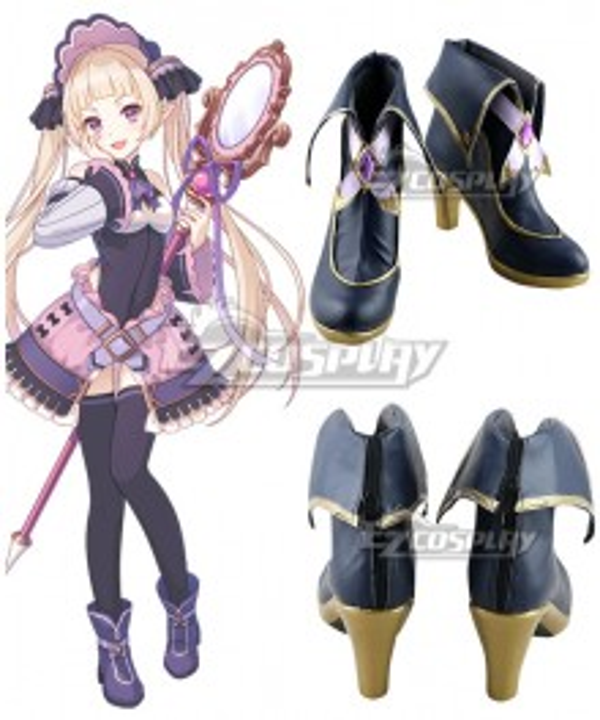 Princess Connect! Re:Dive Nijimura Yuki Purple Cosplay Shoes