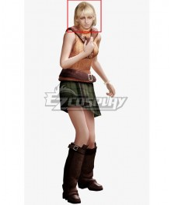 Resident Evil 4 Ashley Graham Golden Cosplay Wig