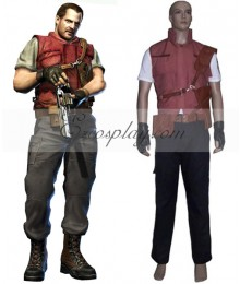 Resident Evil 5 Barry Burton Cosplay Costume