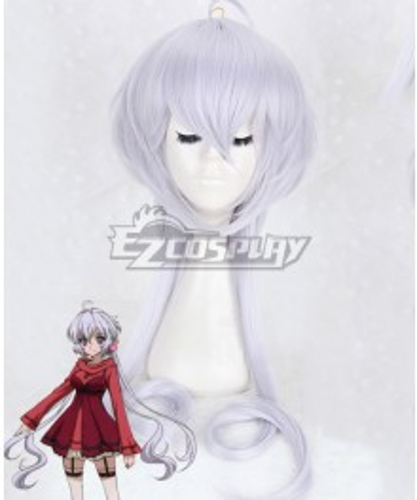 Senki Zesshou Symphogear Yukine Chris White Cosplay Wig