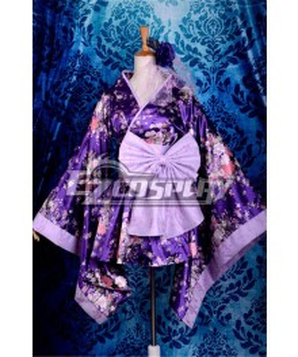 Short Kimono  Cosplay Anime  Costume-Y531