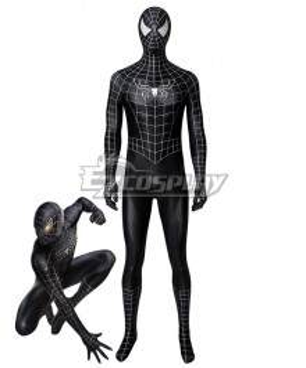 Spider Man 3 Venom Spider-man Zentai Jumpsuit Cosplay Costume