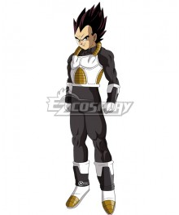 Super Dragon Ball Heroes Vegeta Xeno Cosplay Costume