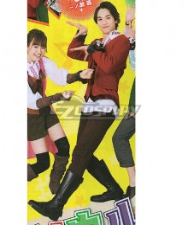 Super Sentai Ryusoul Red Koh Cosplay Costume