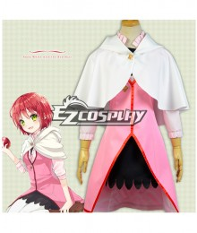 Snow White with the Red Hair Akagami no Shirayukihime Shirayuki pink Cosplay Costume