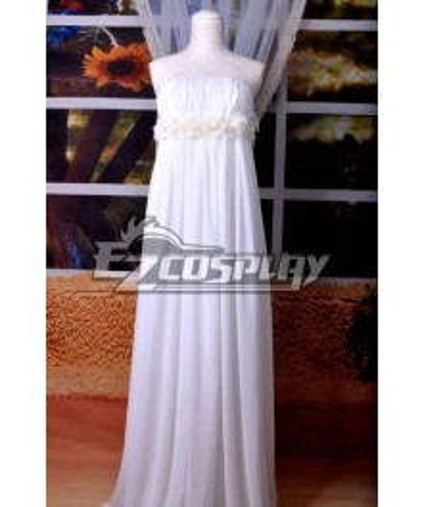 Macross Series Sheryl MF White Rabbit Lolita White Cosplay Costume