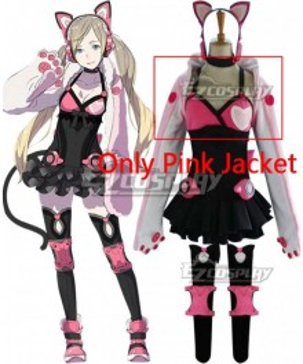 Tekken Lucky Chloe Cosplay Costume - Only Pink Jacket
