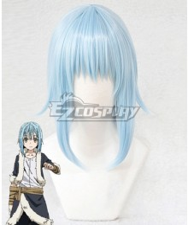 That Time I Got Reincarnated As A Slime Tensei Shitara Suraimu Datta Ken Rimuru Blue Short Cosplay Wig