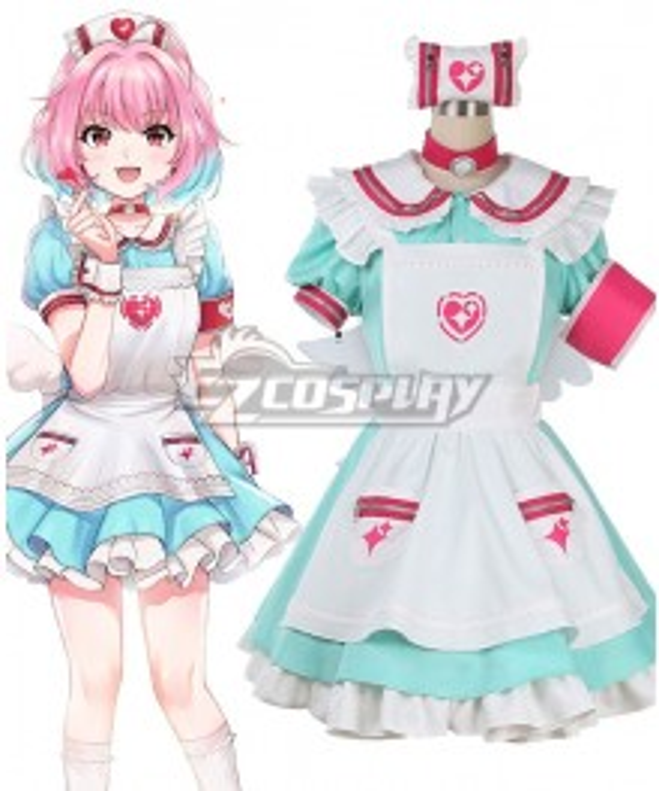 The Idolm@Ster: Cinderella Girls Riamu Yumemi Gradient Cosplay Costume