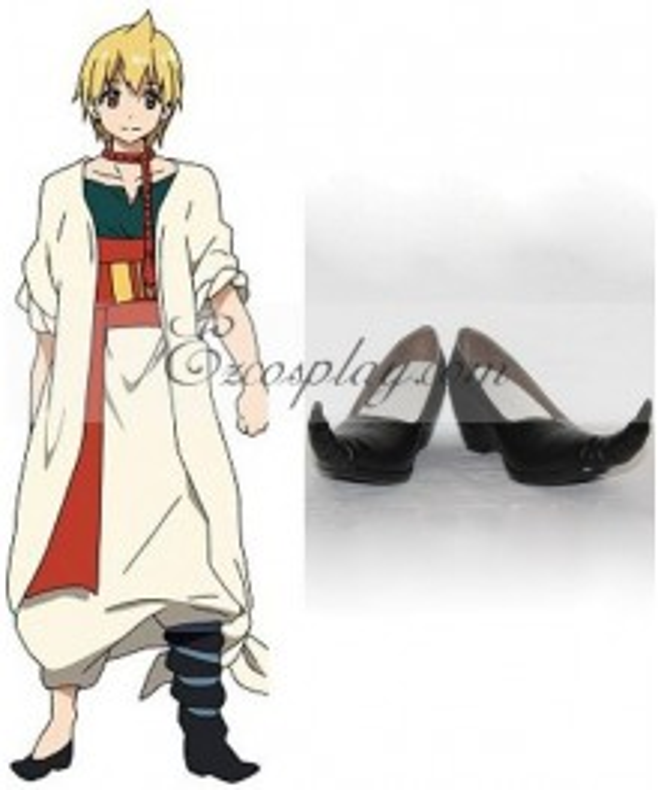 The Labyrinth of Magic Magi Alibaba Saluja Cosplay Shoes