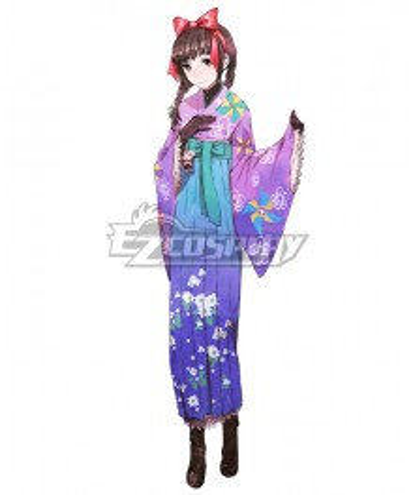 Tokyo Mirage Sessions FE Mamori Minamoto Cosplay Costume