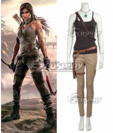 Tomb Raider Season 9 Lara Croft  Outfits Cosplay Costume - No Boots