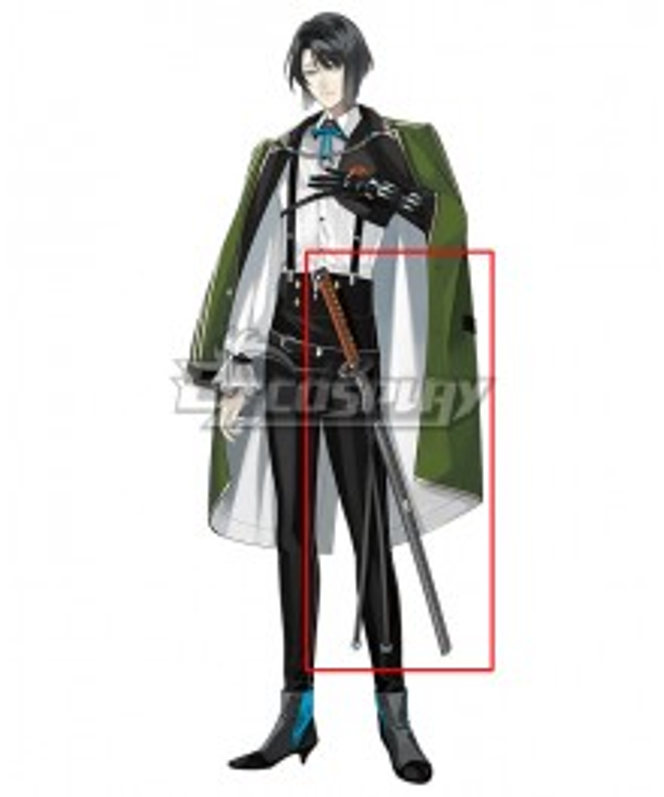 Touken Ranbu Matsui Gou Sword Cosplay Weapon Prop
