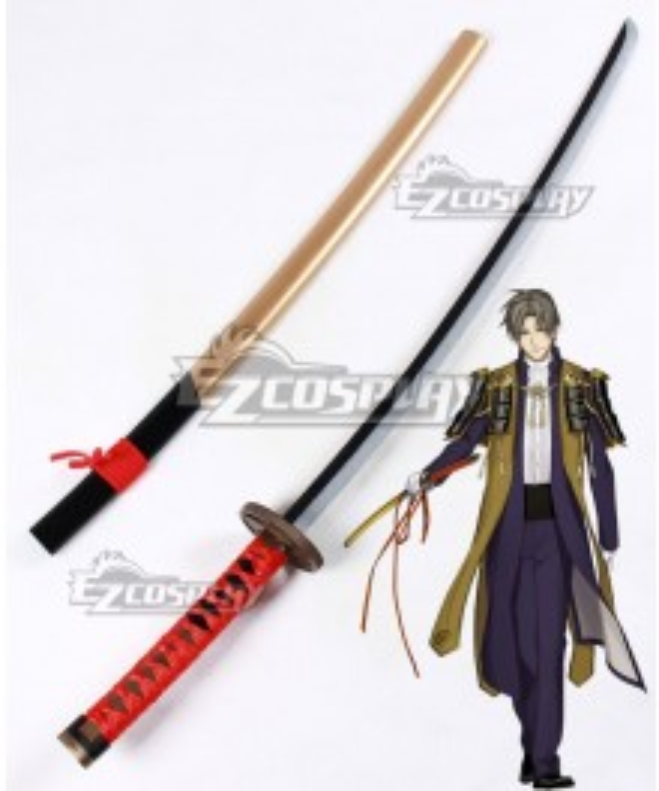 Touken Ranbu Online Heshikiri Hasebe Sword Cosplay Weapon Prop