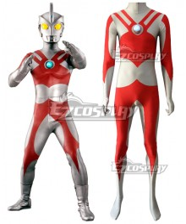 Ultraman Ace Zentai Jumpsuit Cosplay Costume