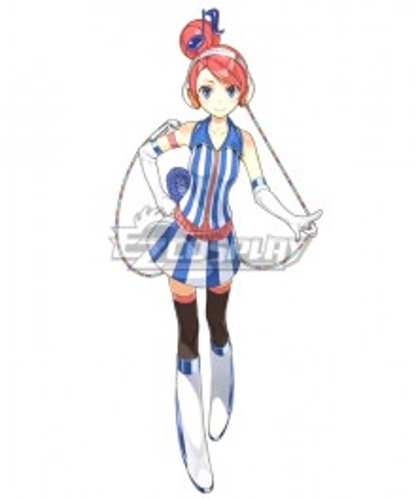 Vocaloid 3 Akikoloid Cosplay Costume