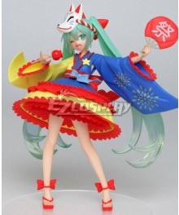 Vocaloid Hatsune Miku 2nd season Summer ver. Cosplay Costume