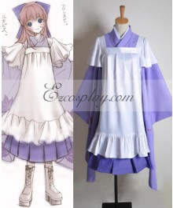 Vocaloid Thousand Cherry Tree Luka Cosplay Costume