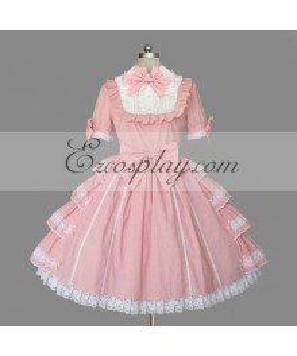 Pink Gothic Lolita Dress -LTFS0131