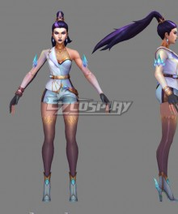 League Of Legends LOL 2020 KDA Kai'Sa Kaisa Prestige Edition Cosplay Costume