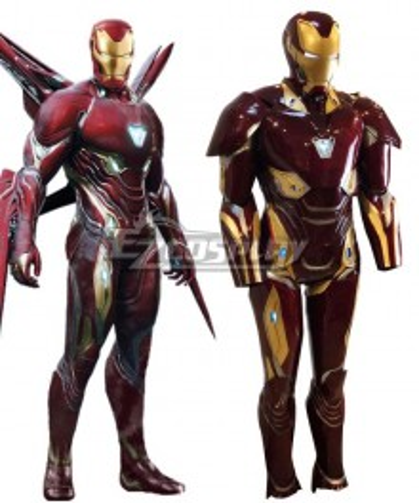 Marvel Avengers Iron Man ironman Tony Stark MK50 Cosplay Costume